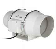 Εξαεριστήρες αεραγωγών κυκλικής διατομής 2 ταχυτήτων Φ150
